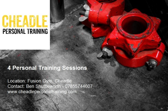 4 Personal Training Sessions Voucher